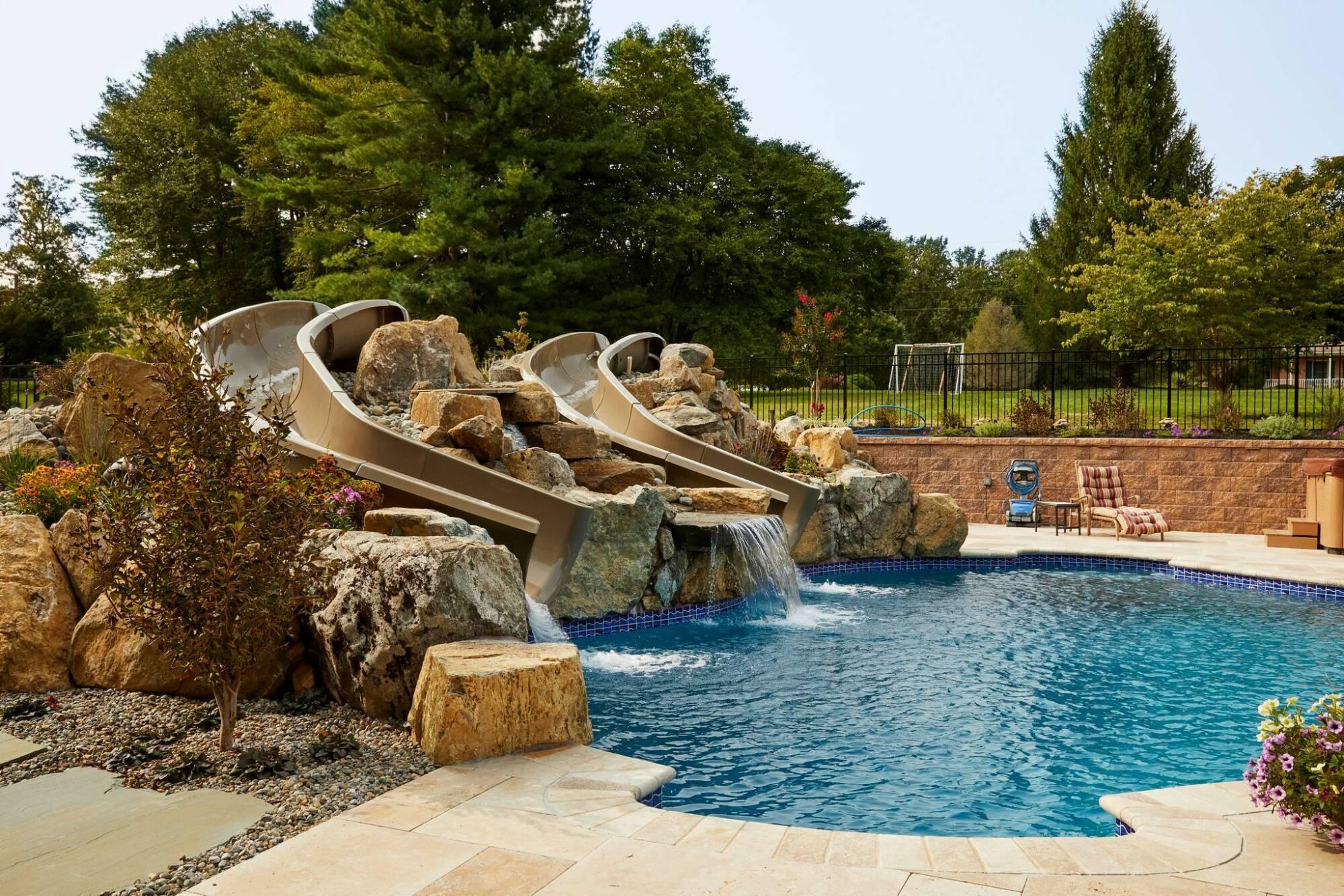 Fall Inground Pool Installation